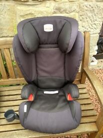Britax Kidfix Isofix Car Seat plus Cup Holder and Seat Protector - Price Dropped
