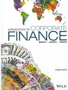 Introduction to Corporate Finance 4th Edition By Booth