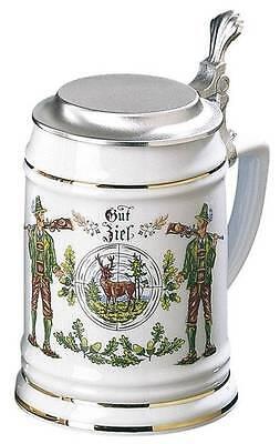 Krug Bierkrug Schützenkrug Ritterkrug 0,5 Liter NEU 84429