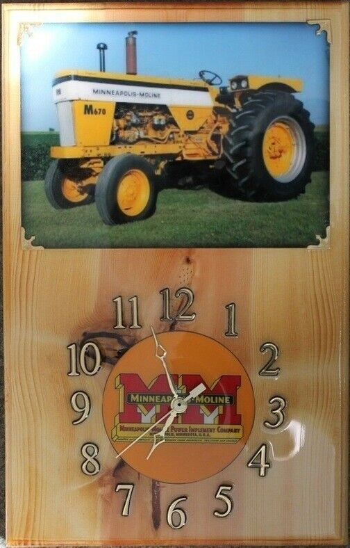 Minneapolis Moline M-670 Clock