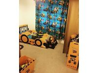 Jcb toddler bed and storage