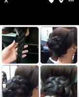 Up do hair services