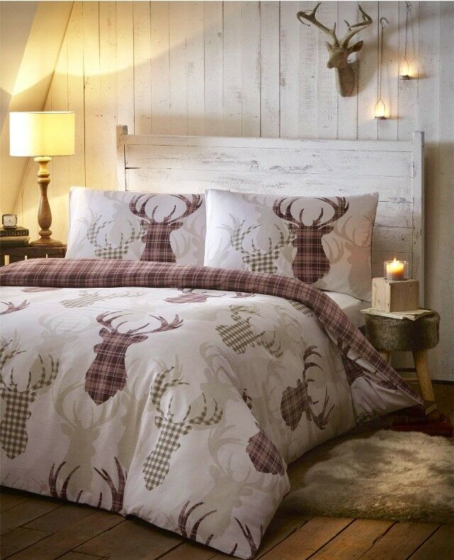 900c8dbbf7b0 Stag Deer design duvet cover set! Brand new and sealed. Bargain price for  quick sale. Double