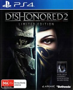 Dishonored 2 and Deadpool Ps4