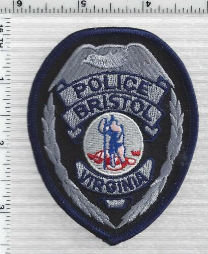 Bristol Police  (Virginia) 2nd Issue Cap/Hat Patch