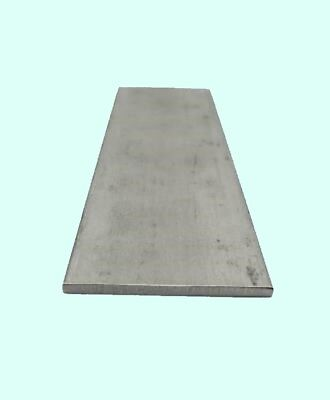 Stainless Steel Flat Bar Stock 18 X 3 X 6 Ft Rectangular 304 Mill Finish