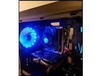 Fast quadcore gaming PC 12gb ram