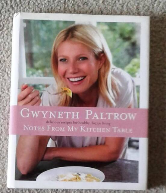 Cookbook Gwyneth Paltrow Notes From My Kitchen Table Nonfiction Books Gumtree Australia Manly Area Beacon Hill 1251870099