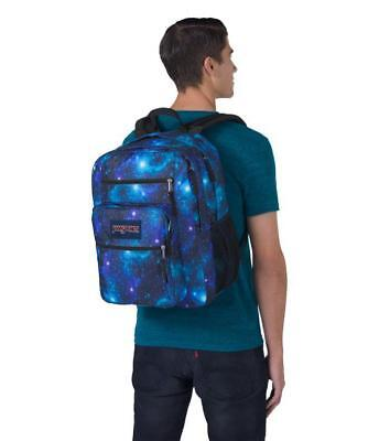 NEW JANSPORT BIG STUDENT BACKPACK  TDN731T GALAXY - LARGE CAPACITY