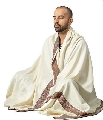 Meditation Shawl by Om Shanti Crafts | Prayer Shawl for Daily Meditation, - Fall Crafts For Adults