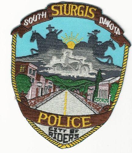 Sturgis Police State South Dakota SD City of Riders