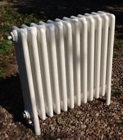 Radiator 4 column cast iron in white 580 X 580 mm