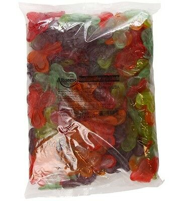 SweetGourmet Albanese Large Butterflies Gummy Candy, 5LB FREE SHIPPING!