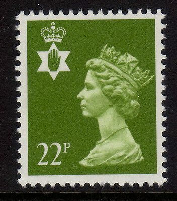 GB Northern Ireland 1984 Regional Machin 22p SG NI54 MNH
