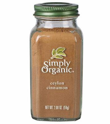 Simply Organic Ground Ceylon Cinnamon Weight Loss True Pure Powder Sri Lanka