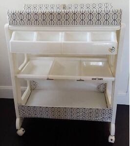 Love & Care 2 in 1 Baby Bath Change Table Eastwood Ryde Area Preview