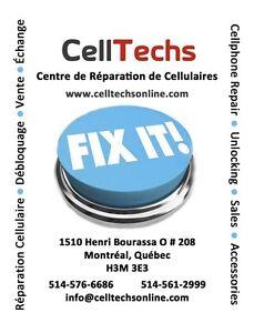 Reparation cellulaire a Montreal chez CellTechs 514-576-6686 City of Montréal Greater Montréal image 2