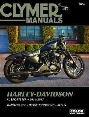 CLYMER MANUALS HARLEY-DAVIDSON XL SPORTSTER 2014-2017 M256