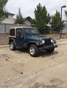 1998 Jeep Tj (ORIGINAL KMS)