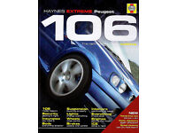 Haynes Peugeot 106 EXTREME the definitive guide - Book new (Retail price £21.99)