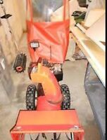 Wanted Ariens snowblower cab