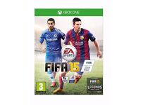 FIFA 15 XBOX ONE GAME FOR SALE
