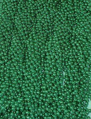 72 Mardi Gras Beads St Patricks Day Green Necklaces 6 Dozen Lot Party Favors (St Patricks Day Party)