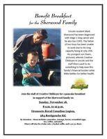 Benefit Breakfast for the Sherwood Family