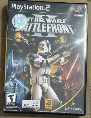 Star Wars: Battlefront II 2 (PlayStation 2, 2005) PS2 game FAST SHIPPING