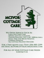McIvor Cottage Care - LAWN, YARD, AND COTTAGE RELATED SERVICES