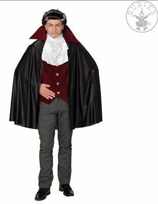 Dracula-Kostüm-Set Vampir Halloween Kostüm Weste, Jabot und Cape / - Dracula Cape & Weste Kostüm