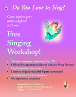 Free Singing Workshop!