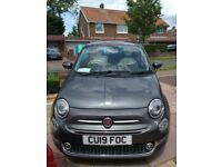 Fiat, 500, Hatchback, 2019, Manual, 1242 (cc), 3 doors, Available end of July