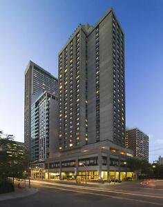1101 Bay Bachelor Apartments in downtown Toronto!