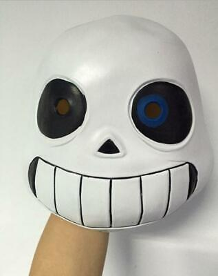Halloween Party Undertale Cosplay Sans or Papyrus Natural Latex Mask Child Adult - Childrens Halloween Masks