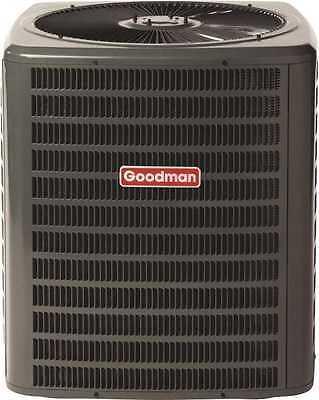 Goodman 1.5 Ton 14 - 15 SEER 18,000 BTU Condenser Central A/C R-410A GSX140181