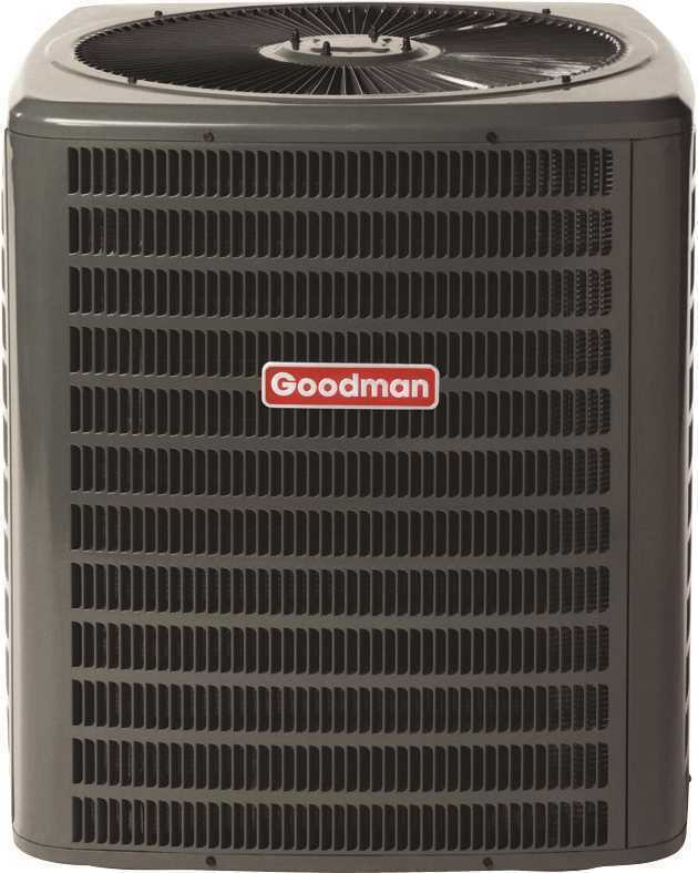 Goodman 3.5 Ton 14 - 15 Seer 42,000 Btu Heat Pump Central Air Conditioner R-410a