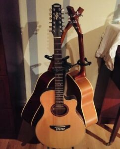 Guitare 12 cordes Yamaha
