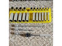 Mac tools 1/4 drive socket set