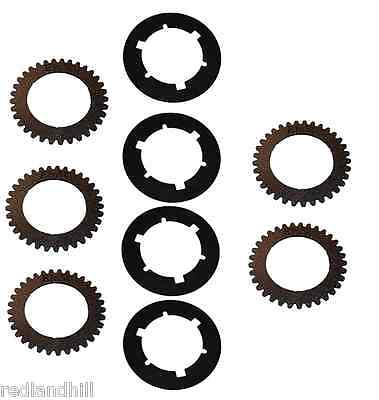 Pto Kit Oliver Super 55 And 550 Tractors E1657 E1658 Clutch Disc Plates