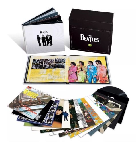 The Beatles In Stereo - Box Set Boxset Vinyl Record LP Free Shipping Brand New