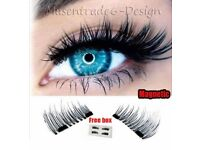 Magnetic Eyelashes Long Layered 3D Reusable 2 Pairs