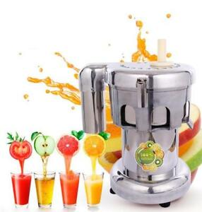 Commercial Fruit and Vegetable Juicer 110V 120307