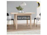 6f5aa1208f6 Brand New Boxed Bamberg Extendable Dining Table