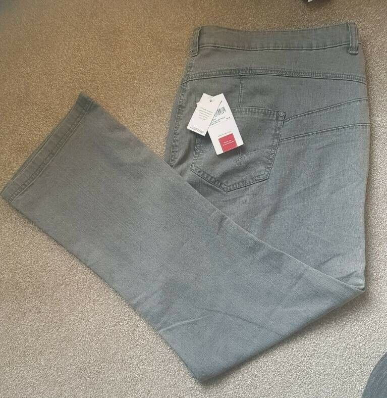 acdb60bbb9b Ladies Gray Jeans Plus Size 26 and 29