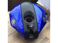 Yamaha YZF125R 2014 Gas tank Blue