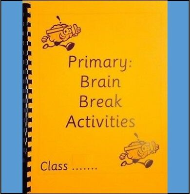 Primary: Brain Breaks Activity Booklet - Brain Break Activities