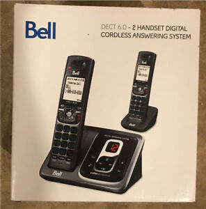 Bell portable phones and answering machine