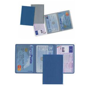 Porta carte di credito 3 ante tessere patente card soldi - Porta tessere e banconote ...
