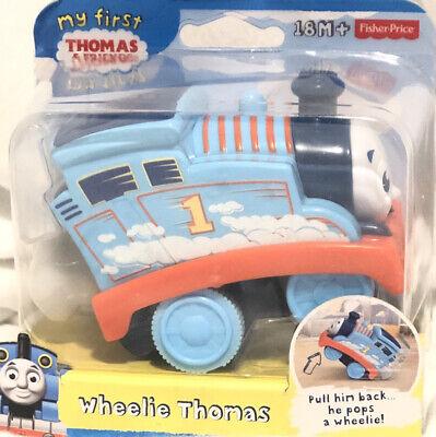 Fisher-Price My First Thomas the Train Wheelie Thomas Toy Brand New MIP